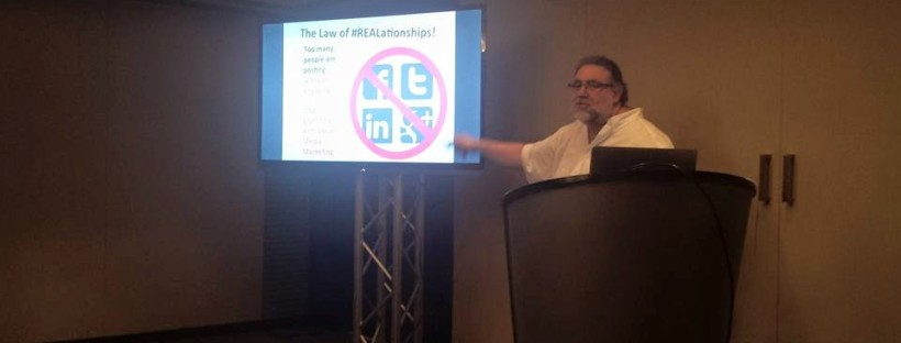 Jim Gilbert Presenting The 9 Immutable Laws of Social Media Marketing